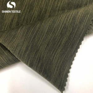 High PerformanceNylon Spandex Knitted Rib Fabric -