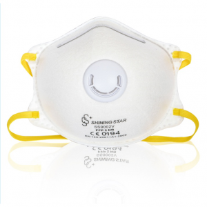 SS9002V-FFP2 Disposable mahugaw respirator