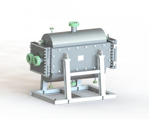 Openable TP Chikakken welded Plate Heat Exchanger