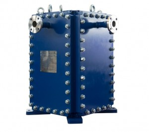 Bloc welded plate heat exchanger for Petrochemical industry