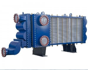 Wide Gap Welded Plate Heat Exchanger for Alumina refinery