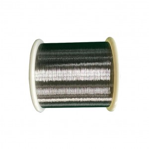 Mica tape braid high temperature nickel plated copper wire