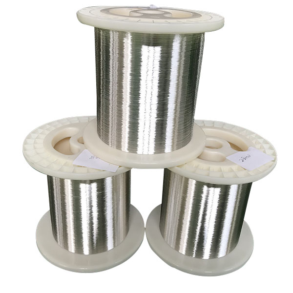 OEM Customized Braided Silver Wire -