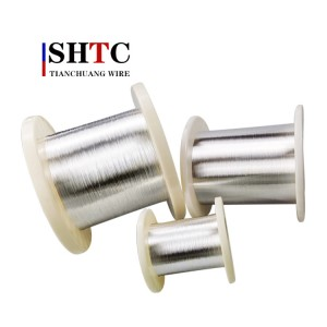 factory low price 45 Awg Silver Plated Copper Wire -