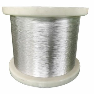 Professional China Twisted 0.18mm-0.203mm Silver plated stranded wire Conductor 19 strands