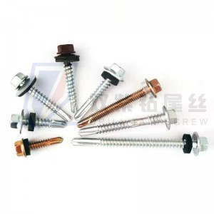 Quoted price for Carbon Steel Hex Head Self Drilling Screws