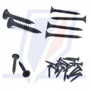 Reliable Supplier Bugle Head Gypsum Black Phosphated Drywall Screw