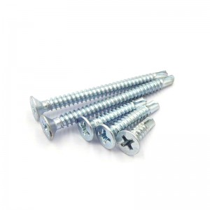 M8 falt head self drilling screws