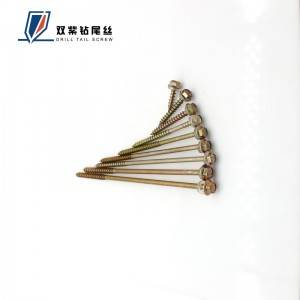 Quality Inspection for Self Drill Tail Crew - Wood screw – Shuangzi