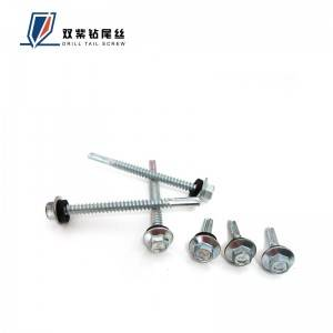 Professional Design Made In Taiwan Din Iso Trim Drill Tail Screw - Longdrill self drilling screw – Shuangzi