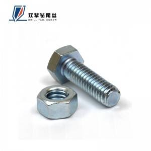Online Exporter Round Cross-Drilling Screws - Hex bolt – Shuangzi