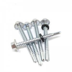 Longdrill point 4. self drilling screw