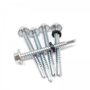 Longdrill point 4. self drilling screw