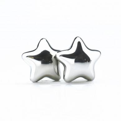 SHUNSTONE Star Shape Stainless Steel Ice Cube Wine