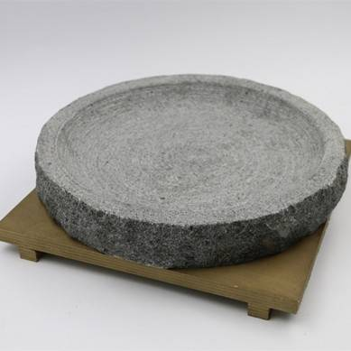 Natural Face Stone Bowl Korean Mixed Rice Stone Pot Barbecue Stone Plate 13-17cm