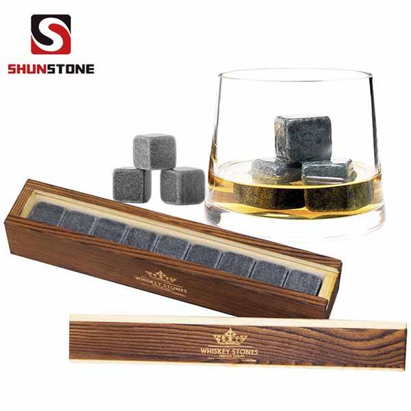 9 pcs of Whiskey Stones with Great Price Wholesale Natural Stone Whisky Stone Customized Whisky Stones Bulk Stone and high quantity Featured Image