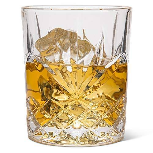 Elegant Whiskey Glass Set of 2 in a Spectacular Gift Box by Regal Trunk & Co.  10 Oz Old Fashioned Lead Free Whiskey Featured Image