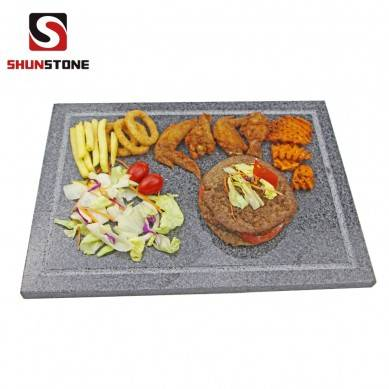 1x Board Sharing Platter Extra Large Lava Rectangle Baking Pizza Stone