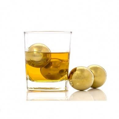 Hot Sales Direct Factory Stainless Steel Gold Bullet Shaped Whiskey Stones, Whiskey Stones With Base