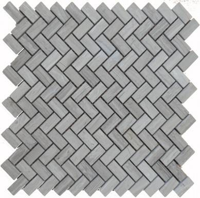 Italian Carrara White Herringbone Honed Marble Mosaic Tiles for Kitchen Bathroom Wall Floor Backsplash Tiles