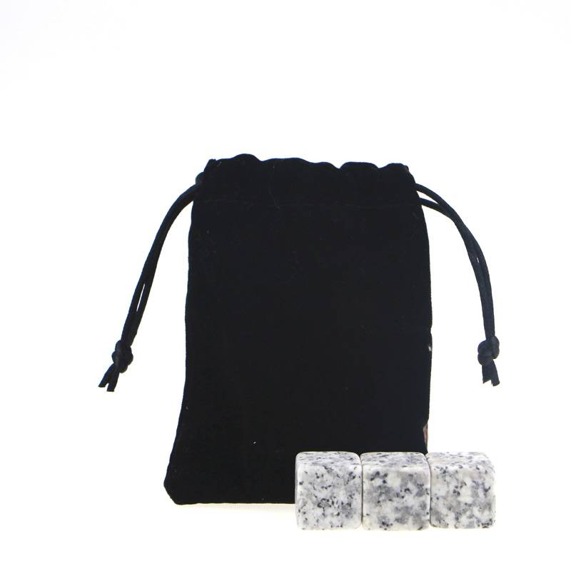 Whiskey Stones with  G603 Chilling rocks , Velvet bag Featured Image