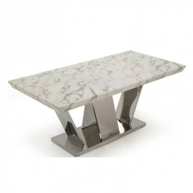 marble plus stainless steel stand fashion coffee table modern small coffee table top