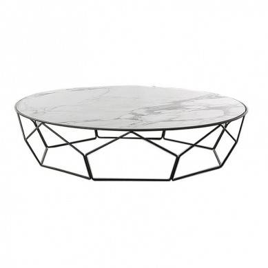2019 hot sale square marble coffee table design