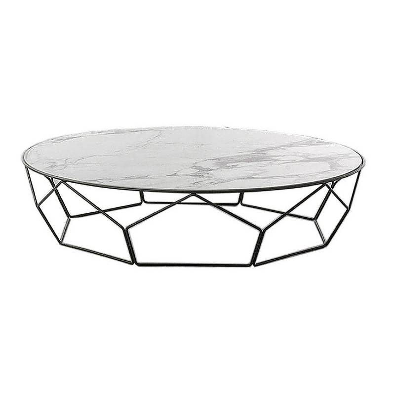 2019 hot sale square marble coffee table design Featured Image
