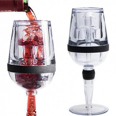Unique Christmas Gift Set ,Goblet Wine Aerator,Magic Decanter Wine Aerator ZSLFK-026A Amazon Hot Sell