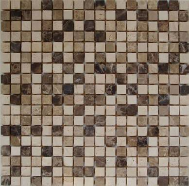 wholesale mix brick marble mosaic art stone ,chinese yellow mosaic tile ,stone travertine mosaic and pattern tile ,