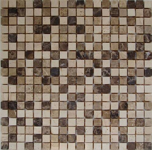 wholesale mix brick marble mosaic art stone ,chinese yellow mosaic tile ,stone travertine mosaic and pattern tile , Featured Image