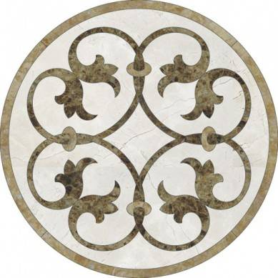 Customized design floor mosaic medalion marble prices