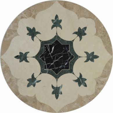 Alibaba Best Wholesale wall and floor waterjet marble medallion and border