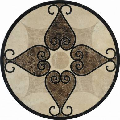 Factory Direct Marble Floor Medallion design,marble tile different medallions,cheap marble mosaic floor medallion from China