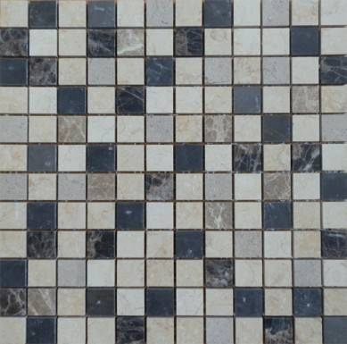 Factory direct sale mix brick marble mosaic art stone ,chinese yellow mosaic tile ,stone travertine mosaic and pattern tile