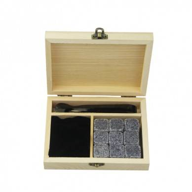 9 pcs of 654 Premium Personalized Gifts Box Set Engraved Logo Rocks Whisky Chilling Stones Direct Manufacturer Ice Stones
