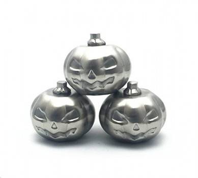 SHUNSTONE Factory Cheap Best Reusable Ice Cubes Stainless Steel Pumpkin Shape