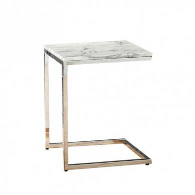 High quality Coffee Tables, Golden Faceted Accent Table, luxury tea table