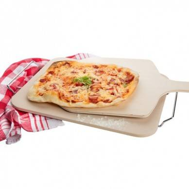 Rectangle Cordierite Pizza Stone for Cooking Baking Grilling Pizza Tools for Oven and BBQ Grill(China)