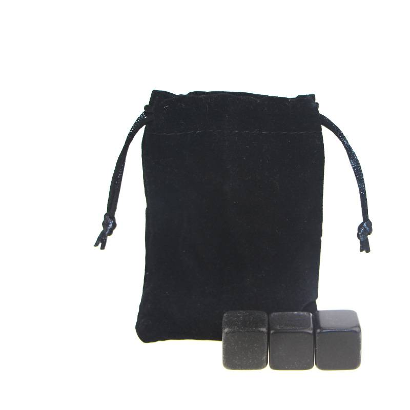 Hot selling High quality Chilling Stones set with Black Velvet bag Featured Image
