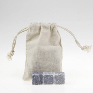 Newest Ice Cube Best whiskey stone set with cotton bag
