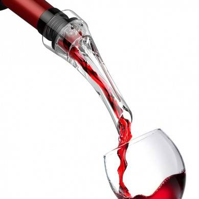 Wine Aerator Pour Spout Acrylic Decanter Pourer Aerating Bottle Pourer New