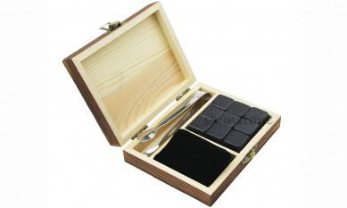 Luxury Whiskey Stones Gift Set Reusable Ice Cubes for Drinks