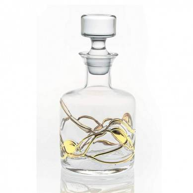 Whisky Decanter GOLD ANTONI BARCELONA