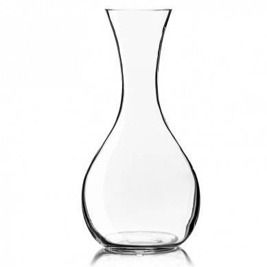 Artisan Wine Decanter  Beautiful Wine Carafe in Hand Blown 100% Lead-Free Crystal Glass  Enjoy Superior Taste, Full Aroma, Smooth Pour