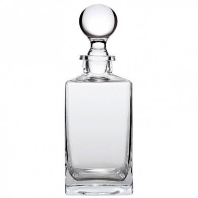 Wine, Liquor and Whiskey Decanter with Glass Stopper. 32 Oz
