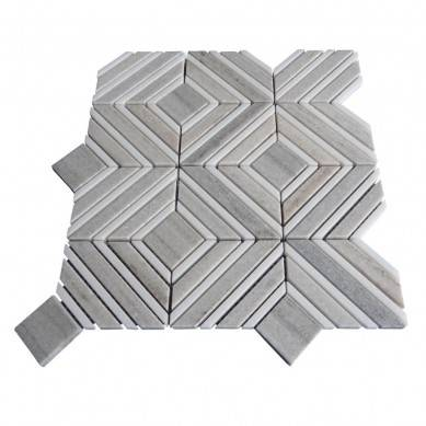 Mixed Shape and Different Color Wholesale Waterjet Mosaic Tiles