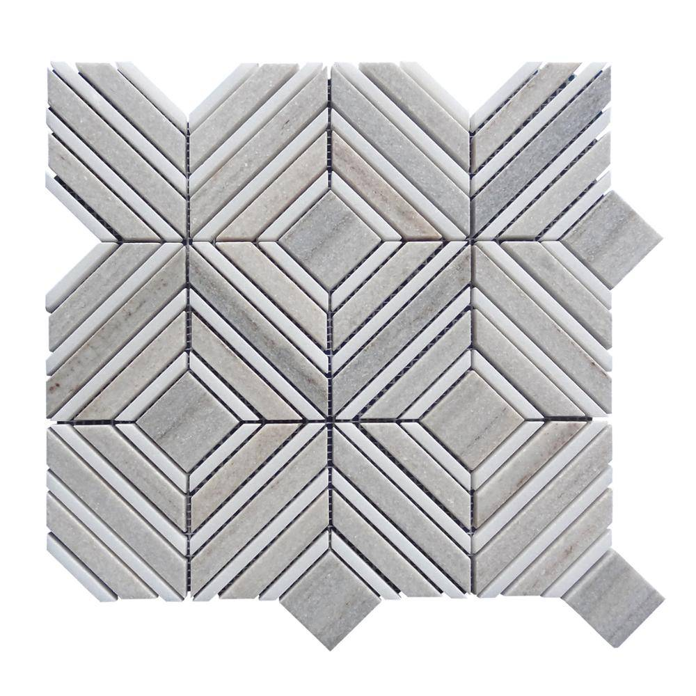 Mixed Shape and Different Color Wholesale Waterjet Mosaic Tiles Featured Image