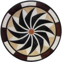 Round floor mosaic medallion,Elevator marble flooring design,Foyer medallion floor