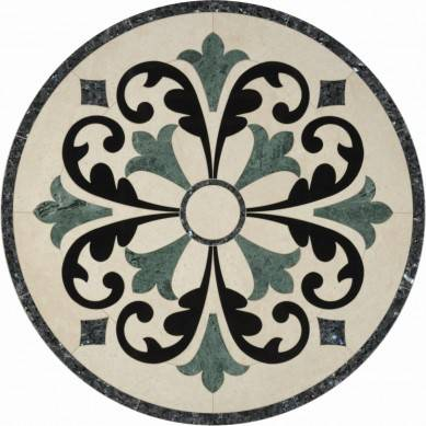 China Polished Water Jet Floor Medallions Patterns,Marble Floor Medallions Pattern (Direct Factory + Good Price)